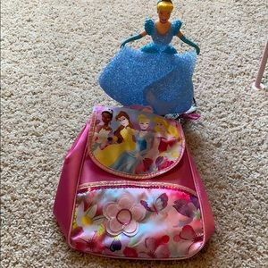Other - Princess mini backpack and nightlight